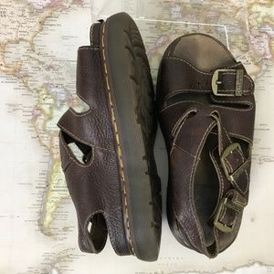 Doc Martens Brown Leather Fisherman Sandals